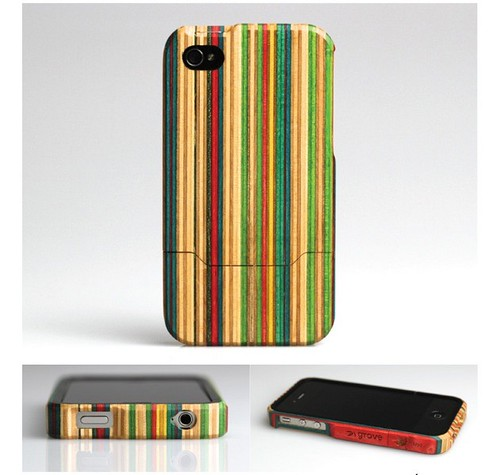The Recycled Skateboard iPhone 4 Case