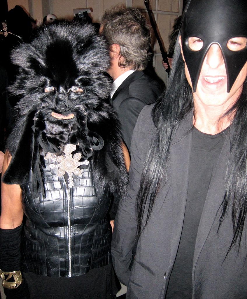 MICHELE LAMY & RICK OWENS, VOGUE PARIS 90TH ANNIVERSARY BAL MASQUÉ - by Industrie Magazine