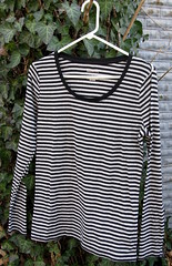 15 Striped long sleeve top