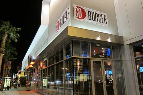 GO Burger: Exterior