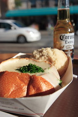 Clam Chowder in a Bread Bowl (Apricot Cafe) Tags: canonef1635mmf28liiusm sanfrancisco california fishermanswharf unitedstatesofamerica