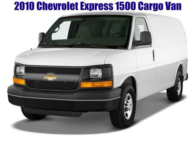 chevrolet cargo express van 1500 picnik 2010