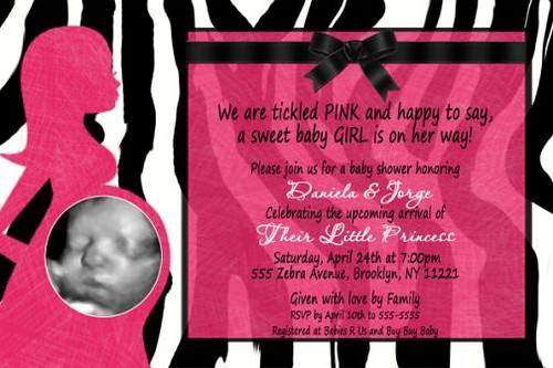 pink pregnant pictures 2011. Zebra Print Hot Pink Pregnant