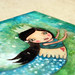 whimsy mermaid detail