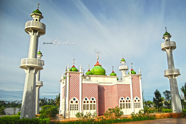 Pattani mosque Thailand