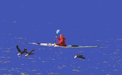 coloriage  (4) (Jean-marc17340) Tags: mer insolite océan littoral canoé coloriages lesboucholeurs glise