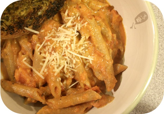 Penne with Creamy Rosemary Sauce