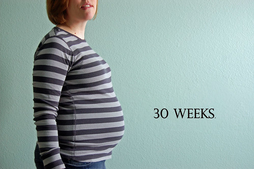 30 weeks with label