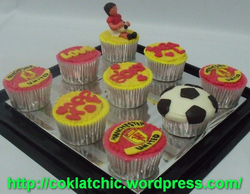 Cupcake for Manchester United lover