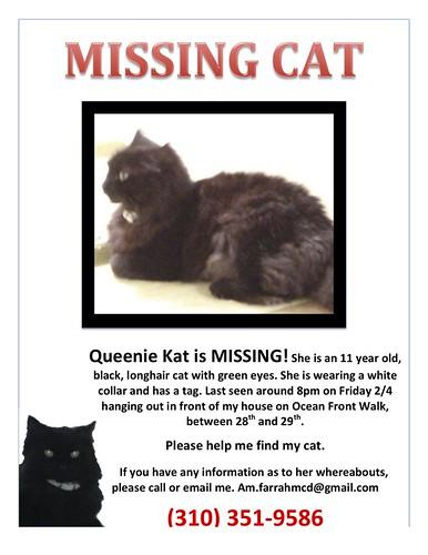 Missing Queenie