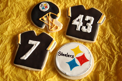 Steelers Super Bowl Cookies.