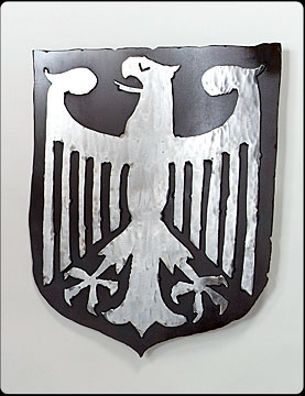 German Eagle Steel Crest