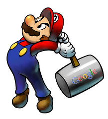 Google Hammer Mario Version
