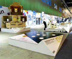 X-Board Paper Composite Display Plinths