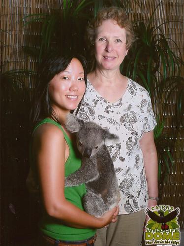 I held a koala!!