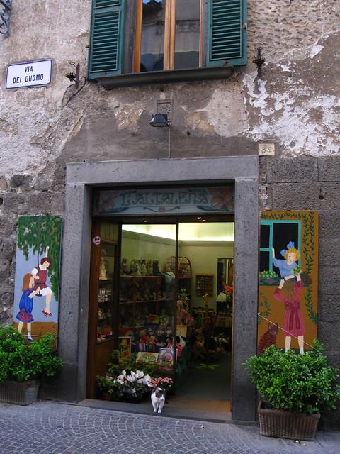 店の入り口のフリー写真素材