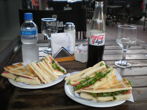 Lunch in Argentina