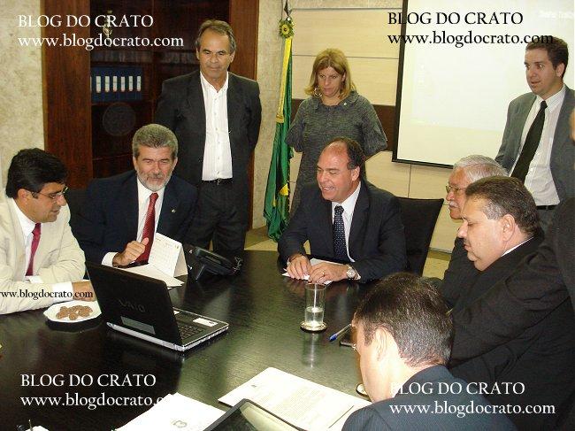 Blog do Crato - Prefeito Samuel Araripe em Brasília