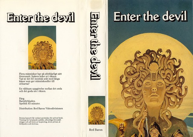 Enter The Devil (VHS Box Art)