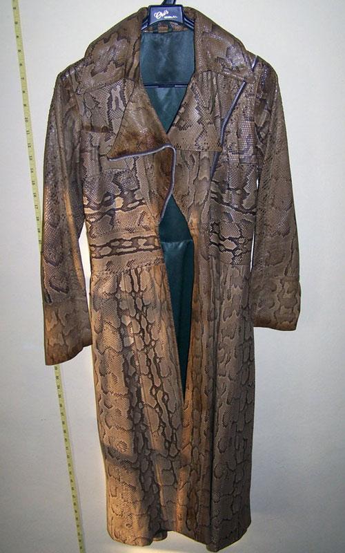 Ossie Clark python coat