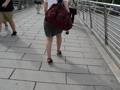 DSCF3122 (Candid Heels) Tags: street public stockings high pumps boots shots sandals candid heels pantyhose nylons