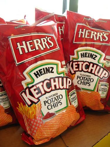 ketchup chips?