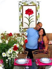 Dia Internacional do Amor ... (Joana Joaninha) Tags: flores love amor felicidade patchwork noivado joanajoaninha hellennilce