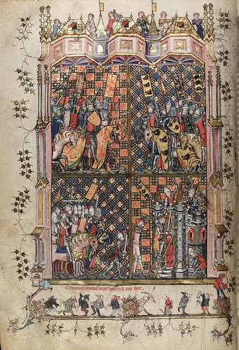 005-folio 51 verso-The Romance of Alexander - MS. Bodl. 264 © Bodleian Library-University of Oxford 1999
