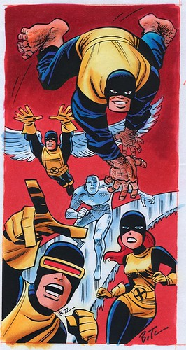 X-Men Classic Team by Timm