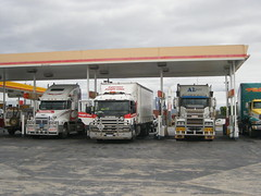 Mixed Mob (LozF) Tags: lines century truck al transport australia class titan mack freight coe scania logistics browning esperance freightliner cabover