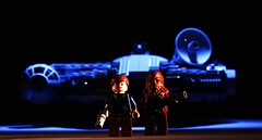 Scoundrels (Blockaderunner) Tags: star lego millennium solo falcon wars han chewbacca