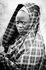 Maasai Woman (mikel.hendriks) Tags: africa portrait people woman tanzania dress african group massai ethnic portret masai maasai vrouw customs eastafrica groep canonef50mmf18ii masa afrikaanse etnische canoneos50d oostafrika