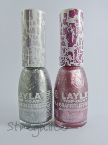 Layla Graffiti Topcoat by stregalice