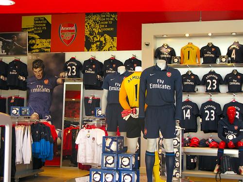 arsenal fan shop