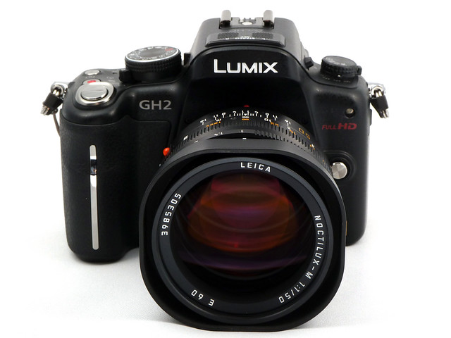 GH2 with Leica Noctilux 50/1.0