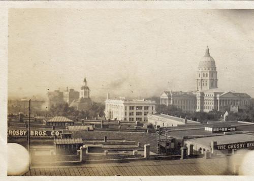 Topeka, Kansas. 1909. State capitol & Crosby Bros. Co.