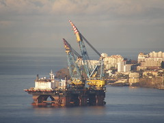 Saipem 7000 (13) (Tobi in Madeira) Tags: sea portugal island crane large vessel atlantic madeira funchal 7000 saipem