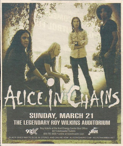 03/21/10 Alice In Chains @ St. Paul, MN