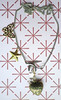 Tattoo Necklace - Big Butterfly Star Retro