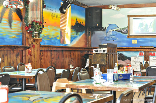 Inside Mazatlan Restaurant ~ St Paul, MN