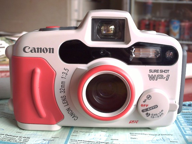 canon sure shot wp-1