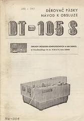 DT105S -- Dokumentace -- Strana 1