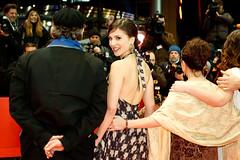 Aylin Tezel bei der 61. Berlinale (Michael_Hübner) Tags: red berlin film germany carpet kunst kultur filme celeb teppich roter berlinale promi almanya