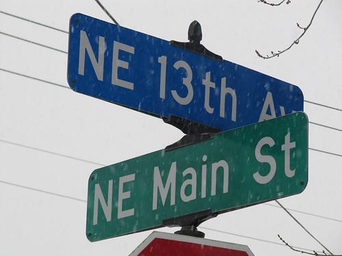 13th & Main St NE
