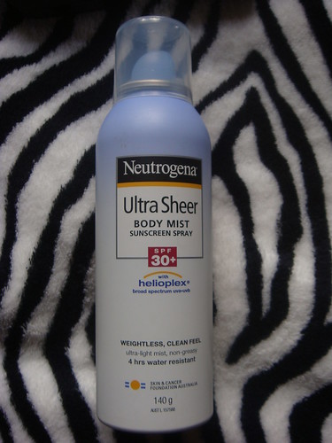 Neutrogena, Neutrogena body mist sun spray, ulter sheer sun spray