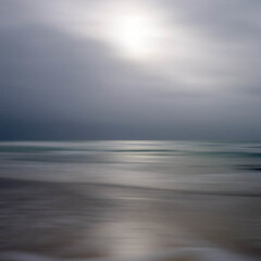 adagietto (dougchinnery.com) Tags: blue light blur green grey movement cornwall sands icm muted praa intentionalcameramovement adagietto