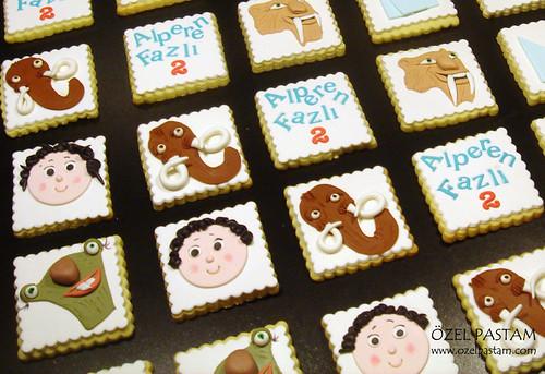 Buz Devri Kurabiyeleri / Ice Age Cookies