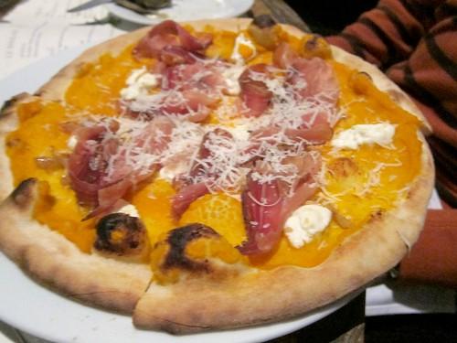 Zucca (Squash) Pizza