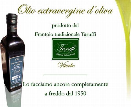 L'Olio extravergine di Oliva di Taruffi Oli
