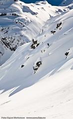 Free skiing (Svinya Rorbuer) Tags: ski vinter rib fisk svinya trollfjorden
